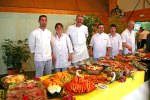 Chefs and the banquet they prepared - Carentan