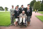 Coleville Sur Mer - British Vet & his ex Royal Marine chums plus the staff there