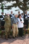 Standing for the National Anthems Carentan