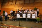 US Forces band Dinner 4th June Carentan - they were brilliant!